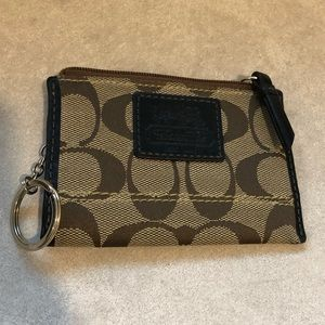 Coach wallet card holder